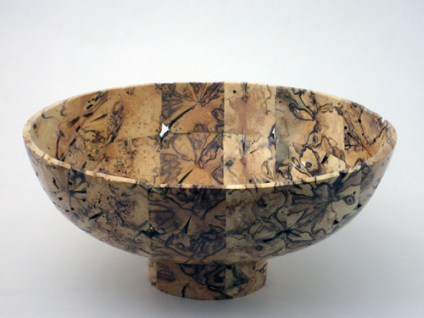 Todgham Bowl by Jim Lorriman, wood turner, Ontario, Canada
